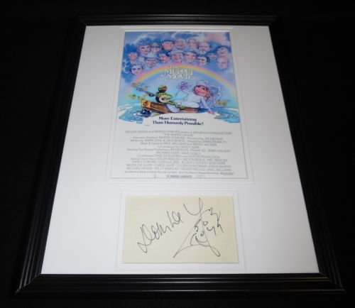 Dom Deluise Signed Framed 11x14 Photo Poster Display The Muppet Movie