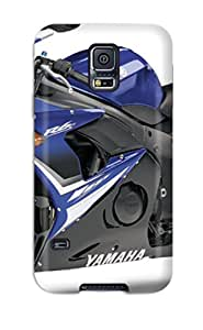 New Yamaha R6 Motorcycles S Tpu Case Cover, Anti-scratch RandolphQuintion Phone Case For Galaxy S5