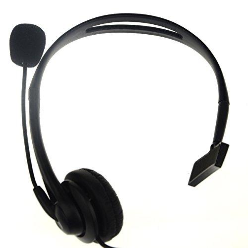 Bigstone Professional Advanced 2 Pin Overhead Earpiece Headset Boom Mic Microphone Noise Cancelling for Kenwood Baofeng Puxing Wouxun Two Way Radio Walkie Talkie 2pin