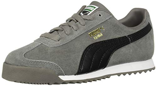 (PUMA Baby Roma Gents Sneaker Charcoal Gray Black, 10 M US Toddler)