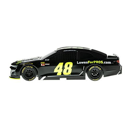 Lionel Racing 15091 NASCAR Authentics 2018 Jimmie Johnson #48 Lowe's Lionel Racing Diecast, Black, Yellow, White, Gray; 1: 24 Scale (Nascar 64 24 Diecast 1)