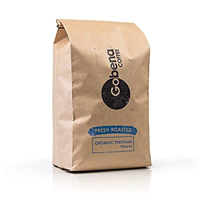 Fair Trade Organic Peruvian Ground 5 lb. Fresh Roasted Specialty Coffee