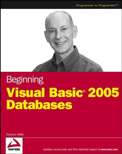 Beginning Visual Basic 2005 Databases (Programmer to Programmer) Pdf