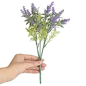 Most.Wished.for 15Heads Artificial Flowers Lavender Fake Bridal Bunch Wedding Party Home Decor 89