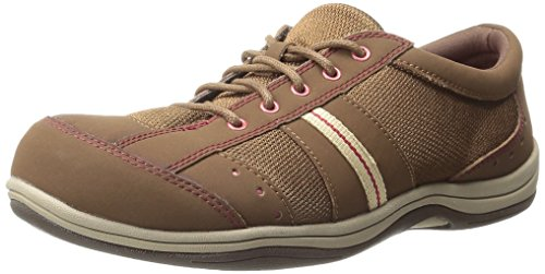 Women's Easy Fashion Leather Street Fabric Emma Sneaker Cocoa 1PwHwq5