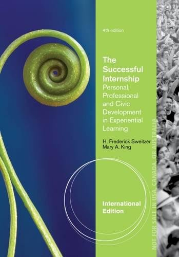 The Successful Internship Personal Professional And Civic Development In Experiential Learning 4Ed (Pb 2014)