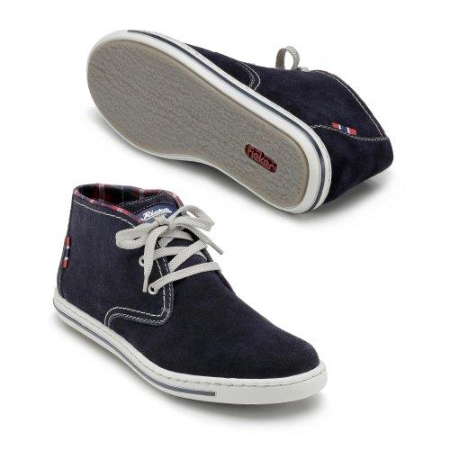 Rieker 39010-14 hombre Sneaker Azul