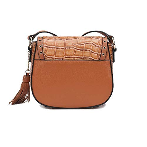 Personnalité Brown Rétro Handsome Charme Sacs Mode Casual Mesdames Chic nO7fRF