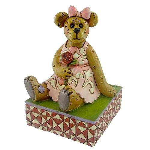 Boyds Bears Valentine Bearstone Figurine (Rosalie Lovesalot)