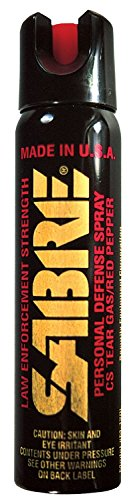 SABRE Pepper Spray Large Magnum Tactical Spray,- Advanced 3-In-1 Police Strength, ((New Value Pack Size)) Total of 3 sprays