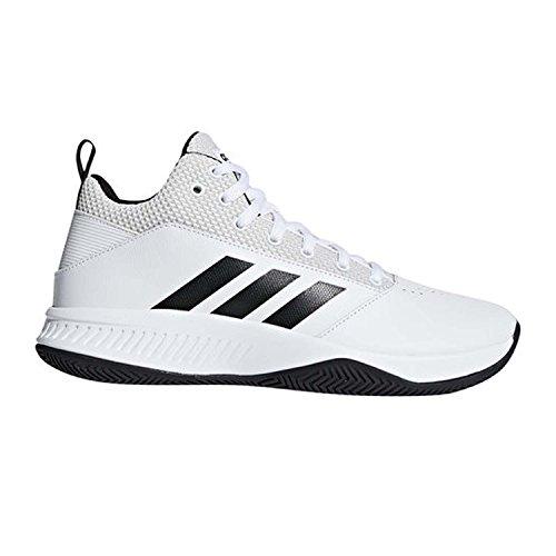 new concept 5f9e8 d8b4f Galleon - Adidas Mens CF Ilation 2.0 Basketball Shoe, WhiteCore  BlackGrey One, 14 M US