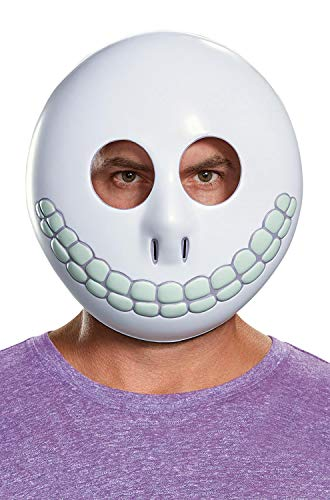 Disguise Men's Barrel Adult Mask, White, One -