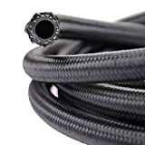 theBlueStone 20FT -8AN Nylon Braided Fuel Line Hose for 1/2'' Tube Size
