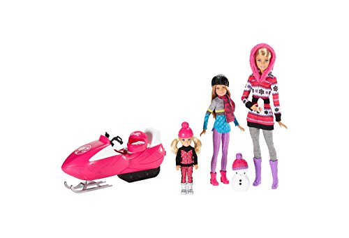 Barbie Sisters Snow Fun Doll Giftset