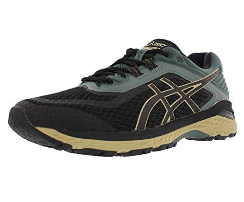 ASICS GT-2000 6 Men's Trailrunning Shoe, Black/Black/Dark Forest, 9 US, T8A2N.9090-9