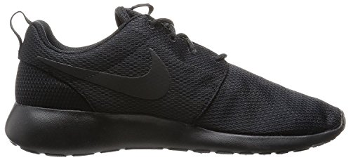 Nike Roshe Run Knit Jacquard - zapatilla deportiva de material sintético mujer Negro
