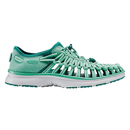 Keen Uneek O2 W, Sneakers Basses Femme Malachite/Everglade