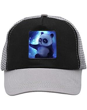 Unisex Cute Panda Bearcat Adjustable Classic Hiphop Hat Baseball Cap Snapback Dad Hat
