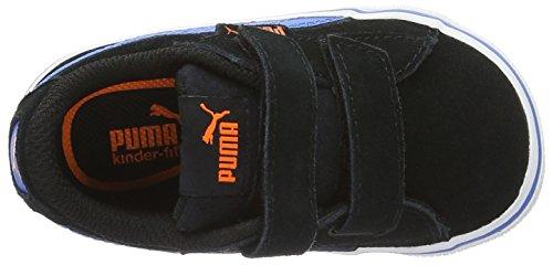 Puma 1948 Vulc V Inf, Zapatillas Unisex Niños Negro (Puma Black-french Blue 09)