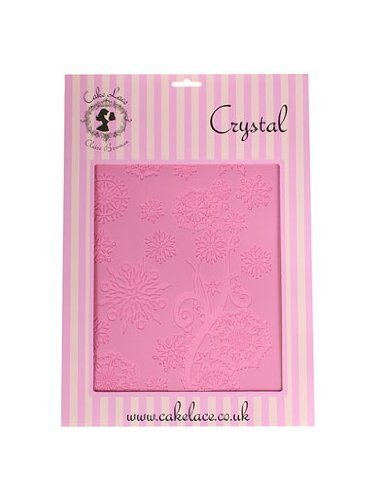 Claire Bowman CRYSTAL Lace Mat Mat - for creating edible lace Cake and Cupcake Decoration