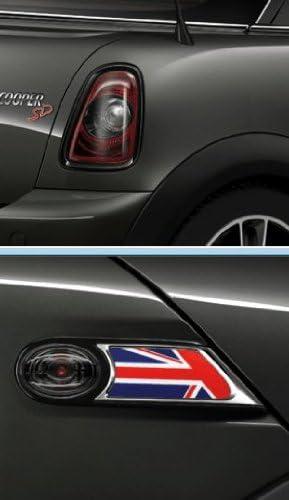 Original Mini R56/R57/R58/R59/Facelift Conversion Kit Rear Light and Side Indicators Black Line with JCW