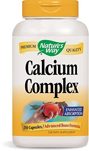 - Nature's Way Calcium Complex Bone Formula, 250 Capsules