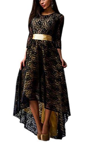 Kleid vorne kurz hinten lang spitze
