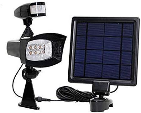 Luz Solar Luces Solares LED Exterior Impermeable Focos LED ...