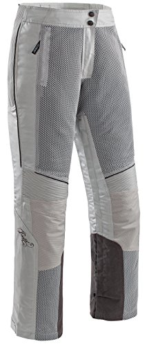 - Joe Rocket Cleo Elite Women's Textile Motorcycle Pants (Silver, Large)