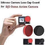 Zeshlla Protective Silicone Camera Lens Cap Cover Guard Pack of 2pcs