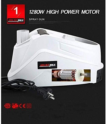 車修理のために1.3mmのと0.8Lじょうろと2.5mmの2つのノズルで1280Wモーターを搭載し、噴霧器電気ペイント