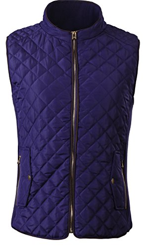 Quilted Side Zip Vest - 5