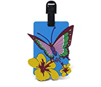 WGI Fun Luggage Tag - Butterfly