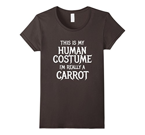 Top 100 Best Halloween Costume Ideas (Womens Carrot Halloween Costume for women men kids easy funny Medium Asphalt)