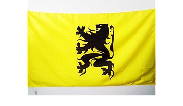 AZ FLAG Bandera de FLANDES INDEPENDENTISTA 150x90cm para Palo ...