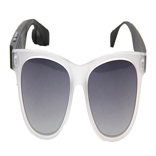 Frêne lumière masculines soleil Transparent lunettes polarisées Lunettes soleil de polarisée Bluetooth Lunettes Blanc et conducteur de féminines de à miroir circulaire soleil Shop lunettes 6 monture 4ax1wZxg