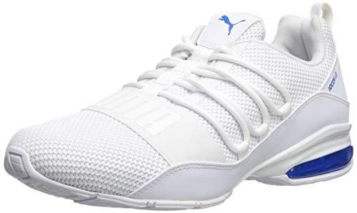 PUMA Men's Cell Regulate Sneaker, White-Indigo Bunting, 11 M US