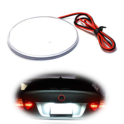 iJDMTOY 82mm BMW Trunk Hood Emblem Background Lighting Kit, Red
