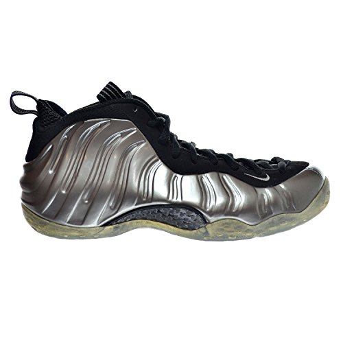 Nike Air Foamposite Ett Mens Gymnastik 314996-007 Metalliskt Tenn / Svart