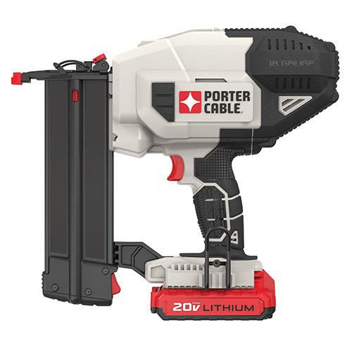 Porter-Cable PCC790LAR 20V MAX Lithium-Ion 18 Gauge Brad Nailer Kit (Certified Refurbished) by PORTER-CABLE (Image #1)