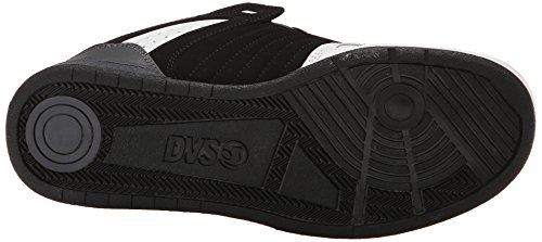 DVS Celsius White Black Leather Negro