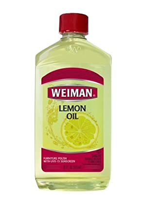 Weiman Lemon Oil Furniture Polish Lemon16.0fl oz, 2 PK