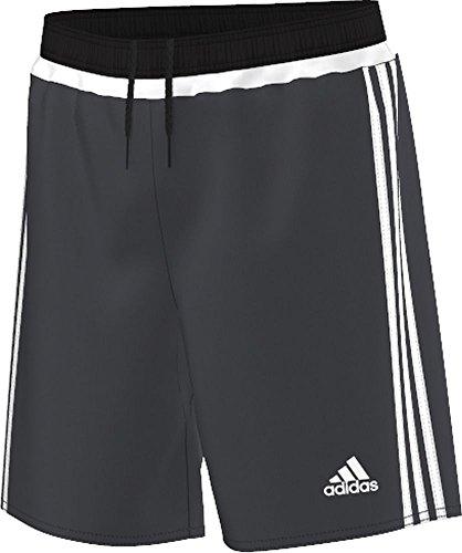 - adidas Campeon 15 Youth Soccer Short M Night Grey/Black/White