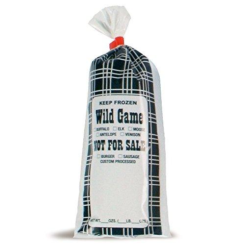 UltraSource 190003 Wild Game Meat/Chub Bag, NFS, 1 lb, 4.25