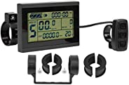 E‑Bike LCD Instrument LCD Meter 24V‑36V‑48V for Scooters Electric Bikes