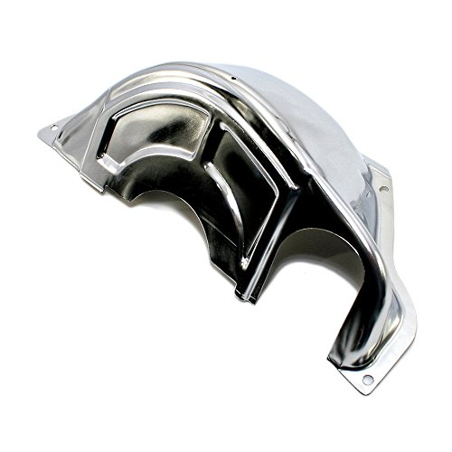(Assault Racing Products A9417 GM Chevy Powerglide Chrome Transmission Flexplate Cover Powerglide)