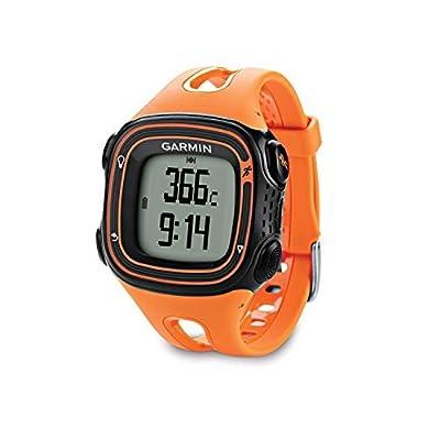 Garmin Forerunner 10 GPS Watch (Black/Orange)-(Certified Refurbished)