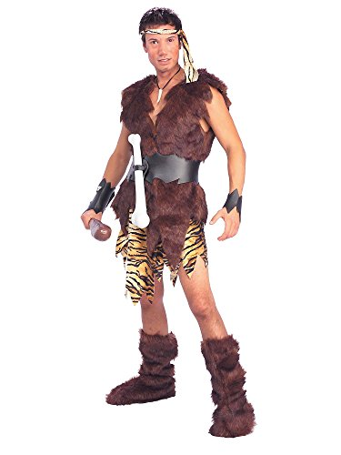 Forum Novelties Men's King Of Caves Costume, Brown, Standard