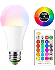 LED bulb 16 color wonderful power 10 watt remote control in colors lamp wonderful decor living room and lounge and board