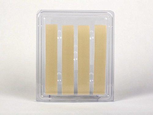NewGel+ Silicone Gel Strips for Scar Management - 1'' x 6'' Strips Beige (4 per box)
